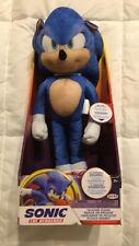 Sonic Talking Plush Sonic The Hedgehog Sega Brand New In Hand Ships Now