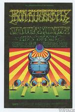 Bill Graham 141 Postcard Ad Back Iron Butterfly Sir Douglas Quintet 1968 Oct 17