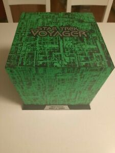 Rare MINT Condition Borg Cube Star Trek Voyager DVD Box Set 4887 of 5000