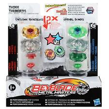 BEYBLADE Metal Masters 2 Pack-TRE TUONA-CICLONE herculo V tempo a spirale