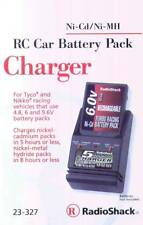 RadioShack 23-327 Ni-CD/Ni-MH RC Car Battery Pack Charger 4.8 6V 9.6V Tyco Nikko