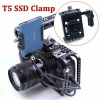 Lanparte SSD Clamp for Samsung T5 SSD for BMPCC 4K Z Cam E2 Camera USB-C Clamp