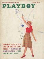 PLAYBOY OCTOBER 1959 Eleanor Bradley Elaine Reynolds ElaineStewart KimNovak D-CF