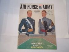 1963 AIR FORCE VS ARMY COLLEGE FOOTBALL PROGRAM - BOX C
