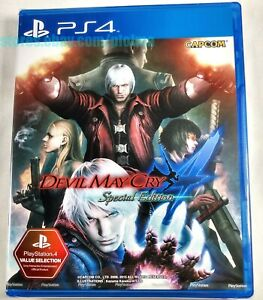 DEVIL MAY CRY 4 Special Edition New Physical PS4 Game ASIA Import -- US Seller