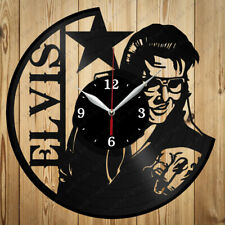 Vinyl Clock Elvis Presley Original Vinyl Clock Art Home Decor Handmade Gift