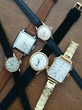 Vintage Watch Zenith Girard Perregaux Certina And Other Lot Stock