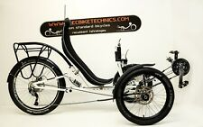 Recumbent Trike, Liegerad trike, Tricycle
