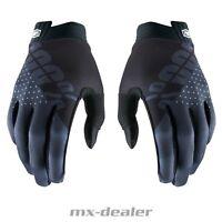 100% Prozent ITRACK 2019 schwarz Handschuhe MTB DH MX BMX Motocross Enduro Quad