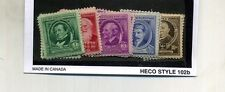 SCOTT 859 - 893  FAMOUS PEOPLE UNITED STATES STAMP SET MH