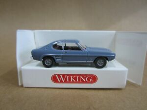 WIKING 821 03 vintage FORD CAPRI COUPE Model is Plastic 1/87 / HO SCALE