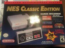 Nintendo NES Classic Edition / Brand New In Box / No Bid Win / Free Shipping!