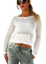 Markenlose alle Jahreszeiten Grobe Damen-Pullover & -Strickware
