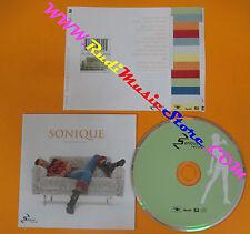CD SONIQUE Hear My Cry 2000 Eu SERIOUS RECORDS 159 230-2 no lp mc dvd (CS4)**