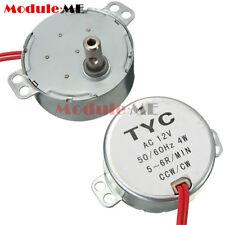 TYC-50 12V 4W 50/60Hz Synchronous Motor 5~6r/min CW/CCW Microwave Turntable