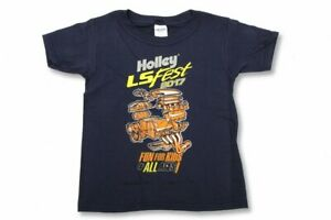 Holley 10124-SMHOL Holley LS Fest Fun for Kids T-Shirt