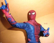 "SPIDER-MAN figure 11"" DOLL toy DISNEY STORE amazing talking SPIDEY +WEB LAUNCHER"