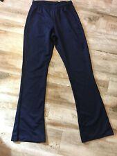 Varsity Spirit Girl's Cheer Dance Yoga Athletic Pants Navy Blue Size L