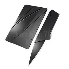 Outdoor Sports Hiking Portable Folding Credit Card Survival Knife Emergency Gear