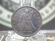 "1875 ""P"" Twenty Cent Silver Piece 20c #3  East Coast Coin & Collectables, Inc."