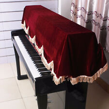 On Stage 88-key Pianos Keyboard Half-Cover Dust Cover   Musical Accessories Red
