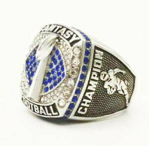 New Fantasy Football 2021 Championship Ring All Size Available 7-14