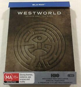 Westworld Season One 1 - Limited Edition Steelbook Blu-Ray Region Free