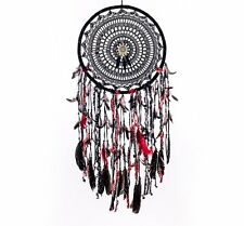 Caught Dreams Boho Dream Catcher ~ Extra Large Handmade Traditional Shape with