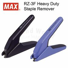 MAX RZ-3F Heavy Duty Staple Remover, MADE IN JAPAN (2 Color select)