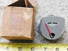 NOS ENGINE TEMPERATURE GAUGE 1951-52 KAISER SPECIAL & DELUXE CARS 1952 NEW OEM
