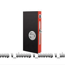 Bathroom Sliding Door Lock Finger Pull Building Hardware US
