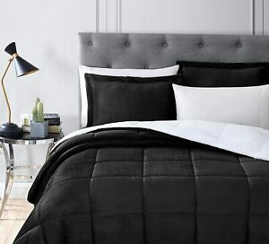 Premium Reversible Bamboo Comforter, Extra Warm and Ultra Soft