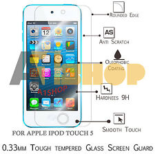 100% Original De Vidrio Templado Protector Pantalla Para Apple Ipod Touch 5ª Generación