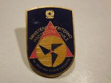 distintivo ministero dell'interno protezione civile
