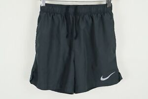 Nike Dry Challenger Shorts Mens 5 inch 908796 Dark Grey Size Small