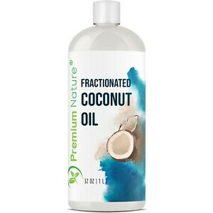 Fractionated Coconut Oil Massage Oil Therapeutic Aromatherapy Virgin Raw 32 oz