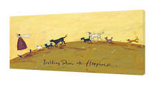 Sam Toft - Walking Down to Happiness - 50 x 100cm Canvas Print Wall Art WDC93124