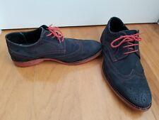 donald j pliner men mens shoes suede black red size 10 diesel