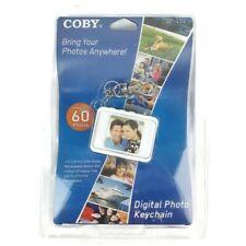 Coby Digital Keychain Vintage Media DP151 NIP Holds 60 photos White Sealed