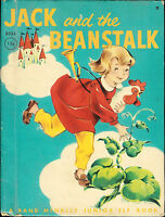 Jack and the Beanstalk ~ Rand McNally Junior Elf Book #8034 Printed 1962