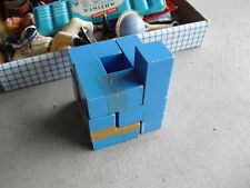 Old Plastic Puzzle Cube Play Toy LOOK