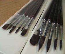 Artmaster Acrylic Brush Set - COMPLETE SET UP!