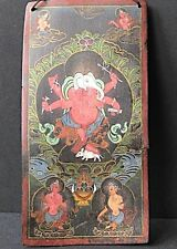 Remarquable Peinture Thangka Tsakli NÉPAL TIBET