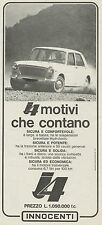 J0567 Automobile Innocenti J 4 - Pubblicità - 1967 Vintage Advertising