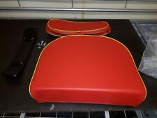 DAVID BROWN TRACTOR SEAT CUSHION & BACK REST.