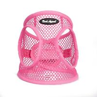 Bark Appeal EZ Wrap Netted Dog Step In Harness Pink Sizes XXS-XL
