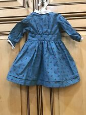 American Girl Doll Kirsten Pleasant Company Meet Outfit Dress ONLY RETIRED PC
