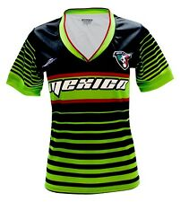 c015e0633 Mexico Women Soccer Jersey New With out Tags Color Black V Neck Made in  Mexico