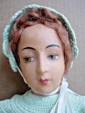 Vintage 1920's Mennonite Dressed Boudoir Doll with Lovely Face