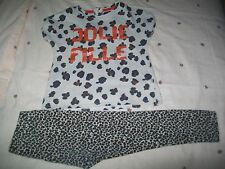 ENSEMBLE FILLE 3 ANS, LEGGING + TEE-SHIRT